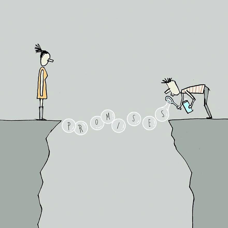 Cartoons Servicing Social Life