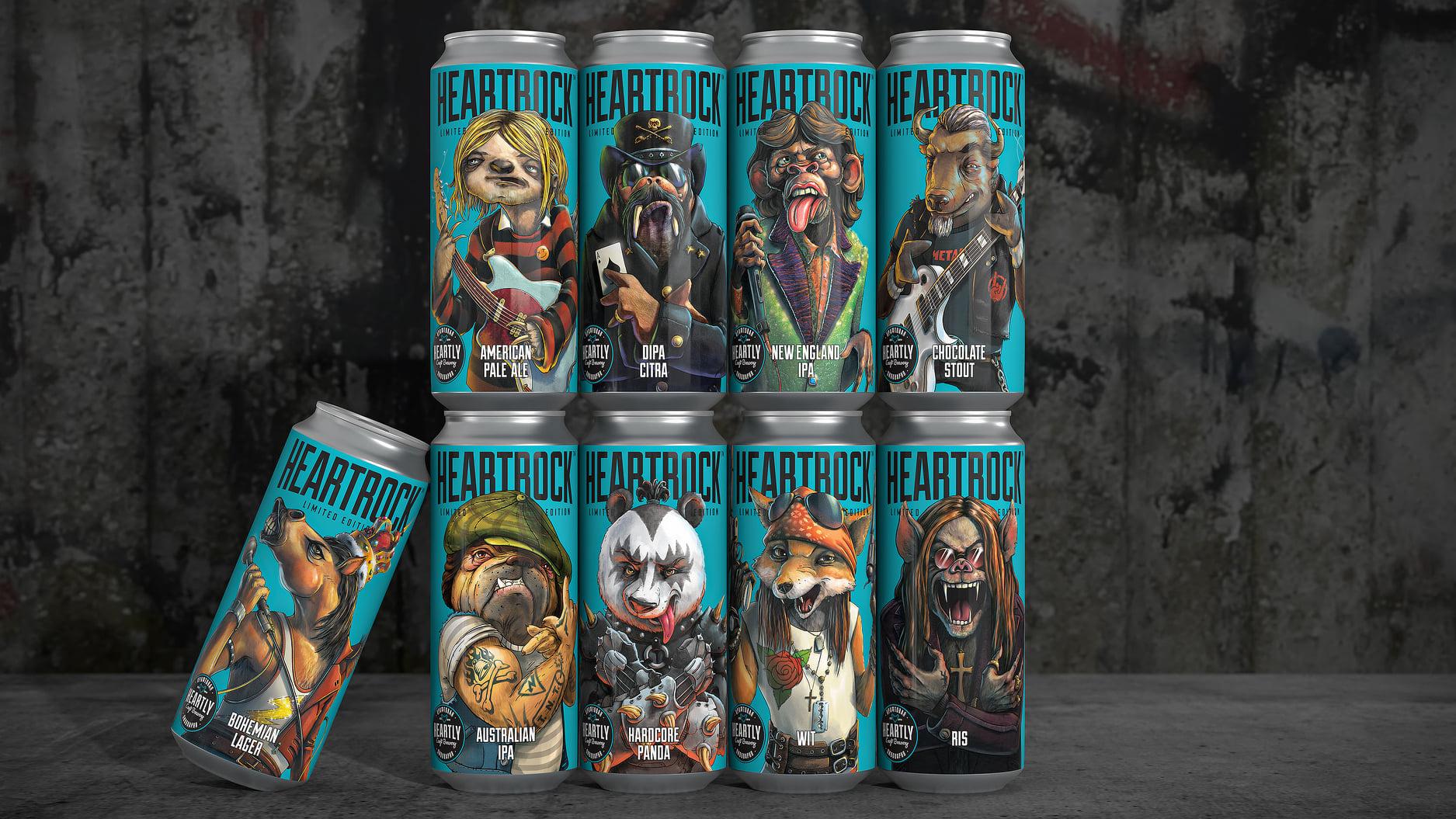 CUBA Creative Branding Studio – Heartrock Beer