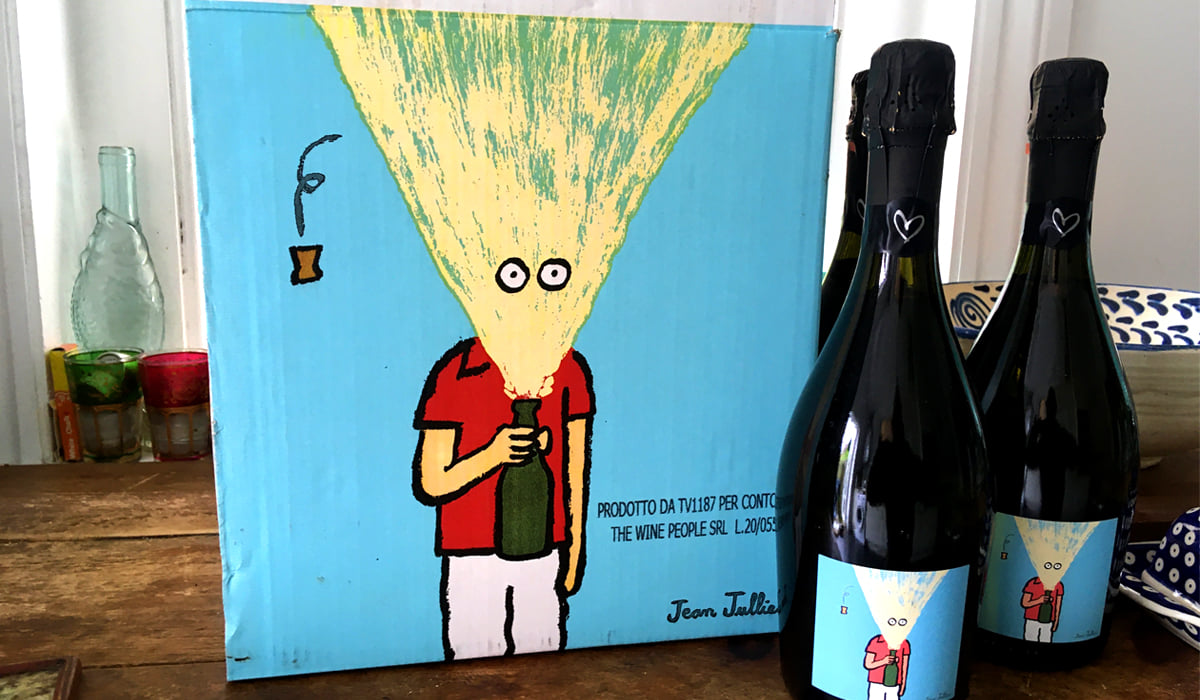 Cartoons servicing the Wine Industry